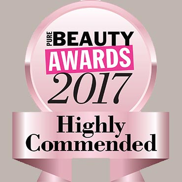 Pure Beauty Awards Highly Commended 2017