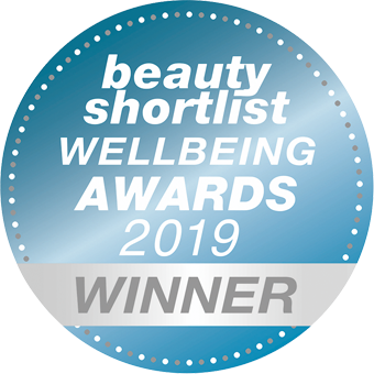 Beauty Shorlist Wellbeing Awards 2019 - Winner