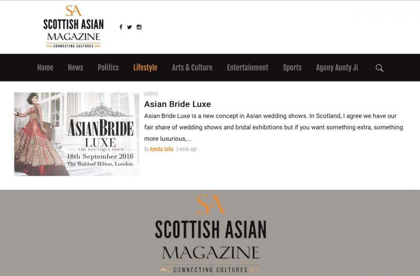 Scottish Asian Magazine