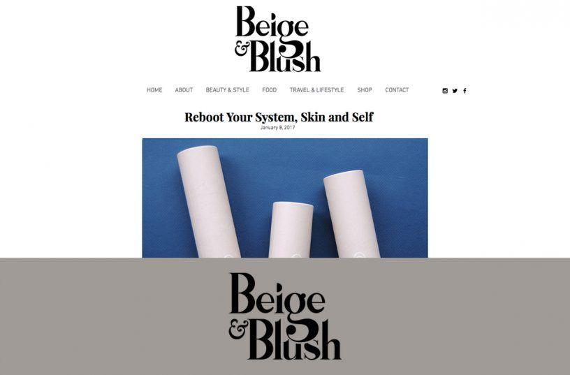 Beige & Blush